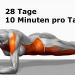 Kennst du das Geheimnis der Ganzkörper-Transformation, die du in nur 4 Minuten schaffen kannst ? Es handelt sich um eine einzige Übung, die nur 4 Minuten pro Tag dauert, 28 Tage lang, um deine Kraft und Ausdauer zu erhöhen und dir zu helfen, Körperfett zu verringern. Ich mache es schon seit 20 Tagen und ich