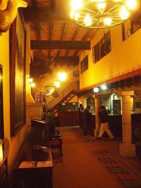 Hacienda San Miguel Regla now a hotel