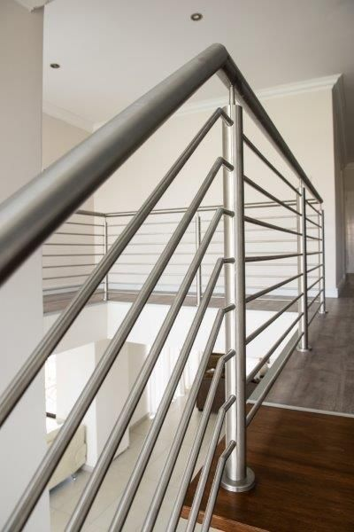 SANS compliant stainless steel balustrades by Steel Studio