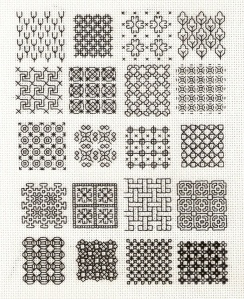 Blackwork samplers