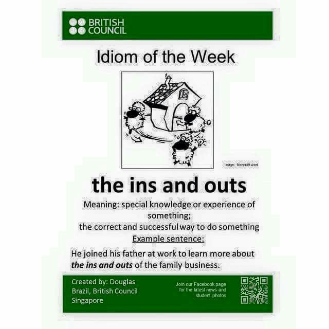 Idioms - ins and out