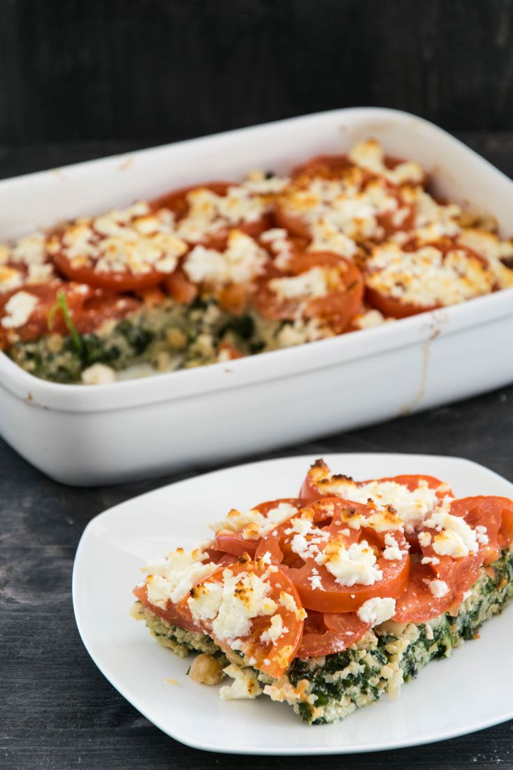 Recipe for bulgur chickpea casserole with tomatoes and feta | Sarah & # 39; s Delig …   – // food