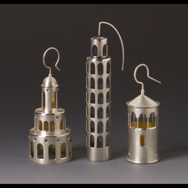 Tower Earrings Donna Veverka
