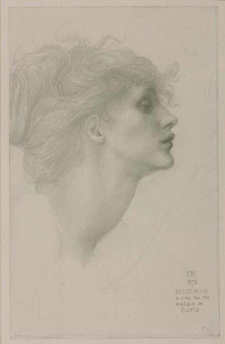 Sir Edward Coley Burne-Jones, Bt, 'Desiderium' 1873
