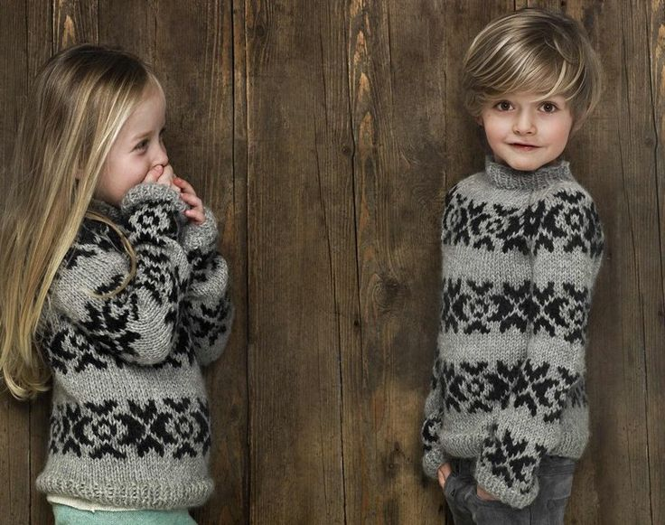 Gundrun and Gundrum for Ovitar classic Nordic sweaters for winter 2012