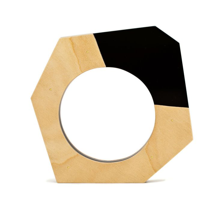 Abstract Bangle in Black - Geometric Jewellery Collection by Chloe Snow
