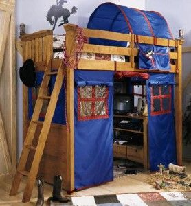 Cool Bunk Bed Fort