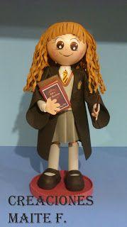 FOFUCHAS. Manualidades y Creaciones Maite: FOFUCHA HERMIONE GRANGER de Harry Potter