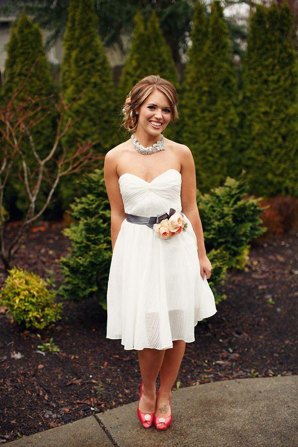 reception dress Encore by Watters