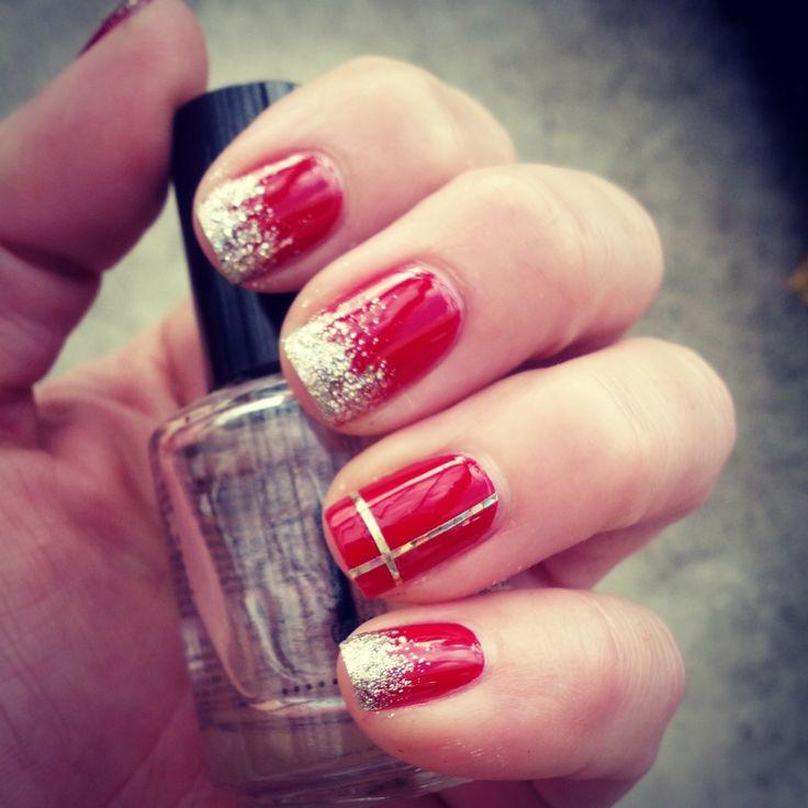 Perfect Holiday Nails #holidaymanicure #holidaynails