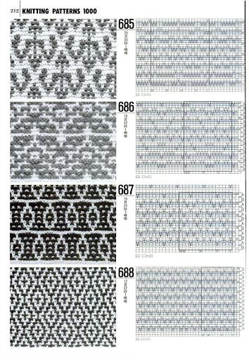 1000 Knitting Patterns Book Download : 1000+ images about Knitting: Mosaic and Slipped Stitches ...