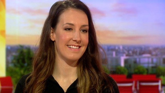 Dani King: Olympic champion says it was scary to go back on the road