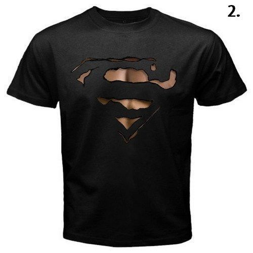 Rare Superman Burn Out Logo T-shirt Limited Stock..!! #Gildan #BasicTee