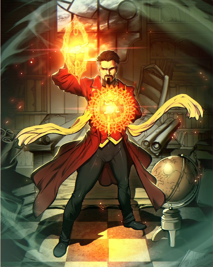 A.R.C.H.I.V.E., herochan:   Doctor Strange   Created by Gonzalo...
