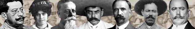 20 de noviembre - Revolución Mexicana.  La Revolución Mexicana fue el movimiento armado que se inició en 1910, y que culminó con la promulgación de la nueva Constitución Política de los Estados Unidos Mexicanos de 1917.