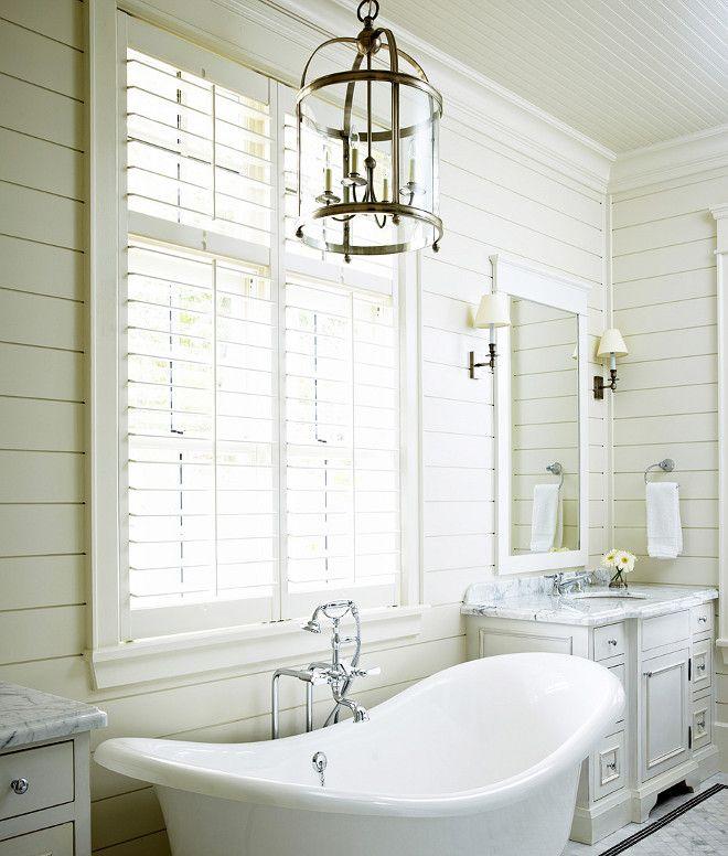 Shiplap Bathroom Vanity: Shiplap Bathroom. Muskoka Living Interiors Inc