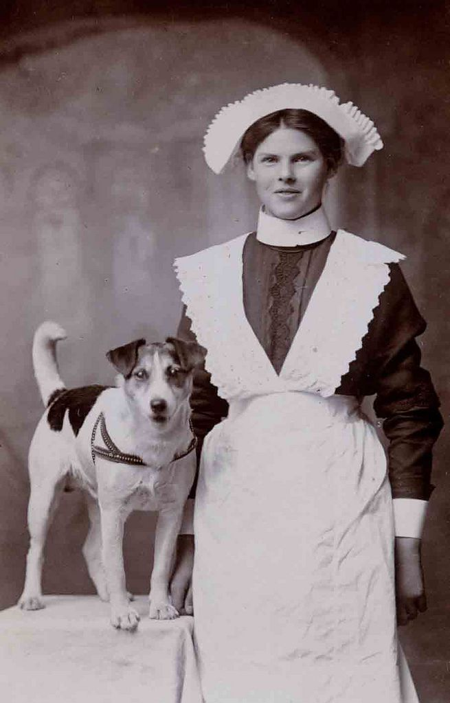 Maid, early 1900's