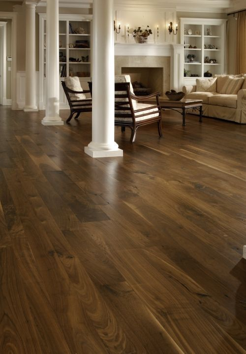 distressed walnut flooring | ... Wood Floor and Dark Wood Floor from Carlisle Wide Plank Floors