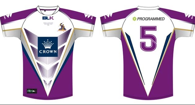 Here is the jersey that we'll be wearing in the 2013 World Club Challenge against Leeds Rhinos. Like it? Hit the Re-pin button! #purplepride