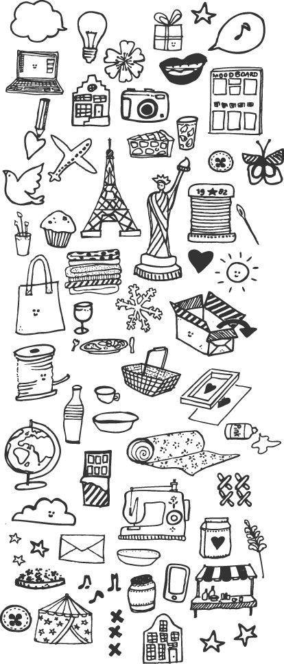 Идеи для скетчбука: Doodle Art