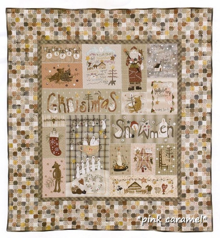 LOVE this!: Applied Quilts, Beautiful Quilts, Pink Caramel, Old Fashion Christmas, Quilts Christmas, De Pinkcaramel, Holly Berries, Christmas Quilts, Berries Christmas
