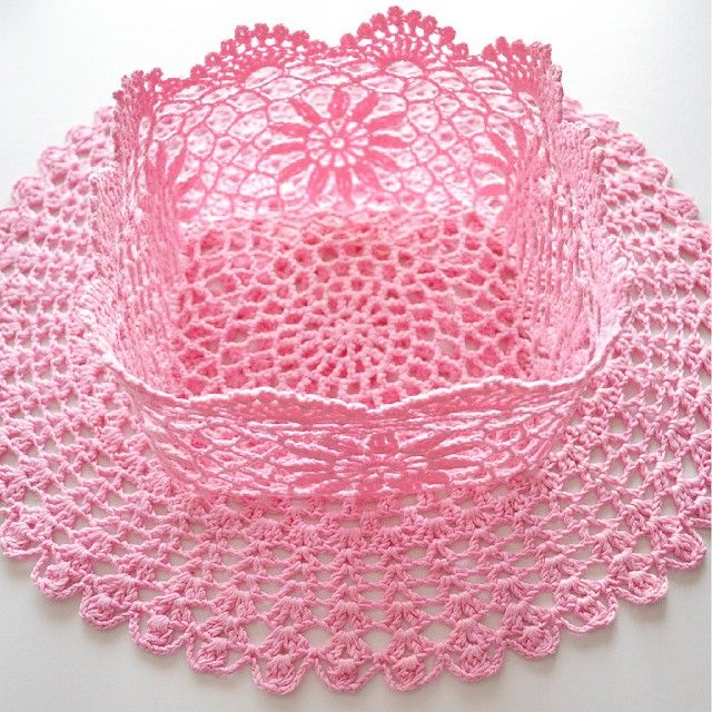 #crochet #basket