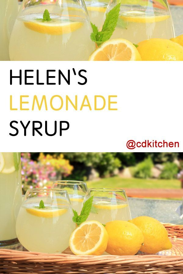 Made with sugar, citric acid, tartaric acid, water, lemons | CDKitchen.com