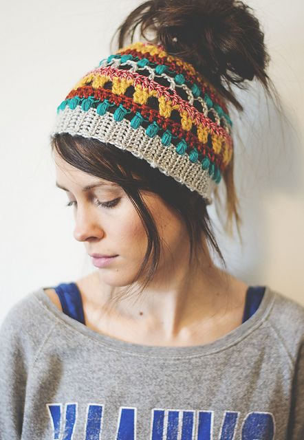 Ravelry: Quick & Textured Bun Hat pattern by Megan Shaimes