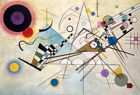 Collection Online | Vasily Kandinsky. Composition 8 (Komposition 8). July 1923 - Guggenheim Museum