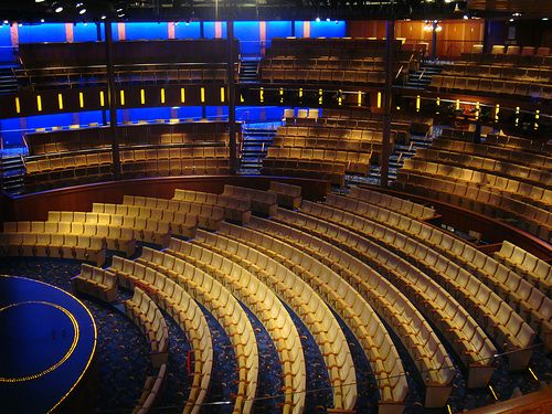 Celebrity Theatre.Celebrity Solstice is the first of five in the Solstice Class of vessels deployed by Celebrity Cruises on behalf of Royal Caribbean International. Other vessels in the Solstice class include the Celebrity Equinox and the Celebrity Eclipse.