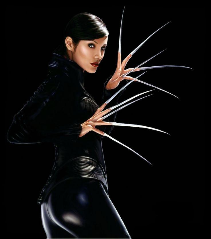 Lady Deathstrike [Kelly Hu].  Unwilling bad gal.
