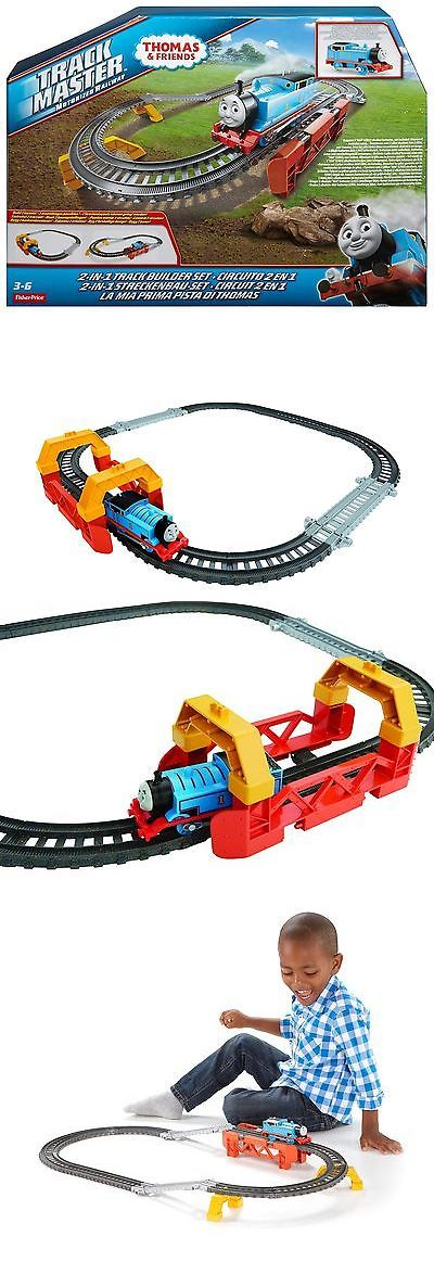 Train Sets 113519: Fisher-Price Thomas The Train - Trackmaster 2-In-1 Track Builder Set New -> BUY IT NOW ONLY: $33.98 on eBay!