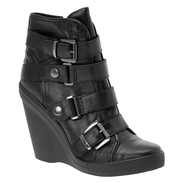 I'm not usually into the high-heeled sneaker thing, but...I need these.