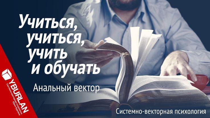 Учиться, учиться, учить и обучать. Анальный вектор. Системно-векторная п...