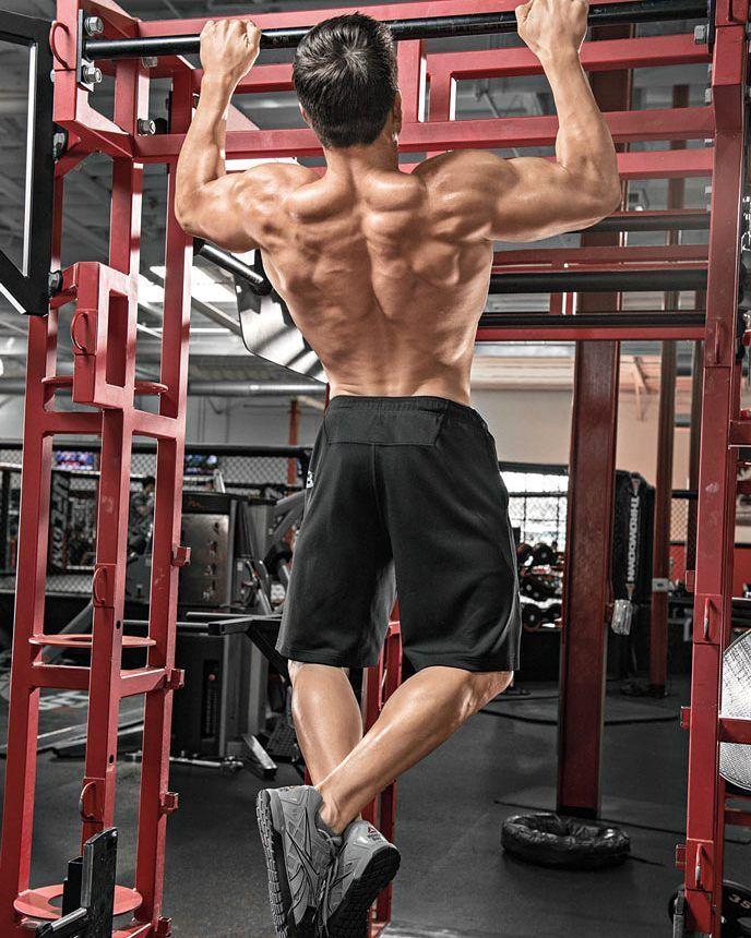 Nejlepší tréninkový split: Malé svaly jako zadní delty bicepsy a předloktí se zotavují rychle tudíž pokud je pokládáte za slabiny můžete na nich pracovat častěji bez ohledu na to jak pokročilí jste. Další  tipt a splity najdete v čísle M&F 6/2016.