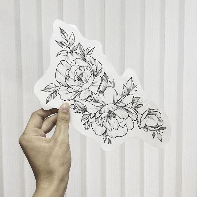 Flower tattoo #FlowerTattooDesigns