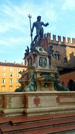 The fountain of Neptune,  Bologna