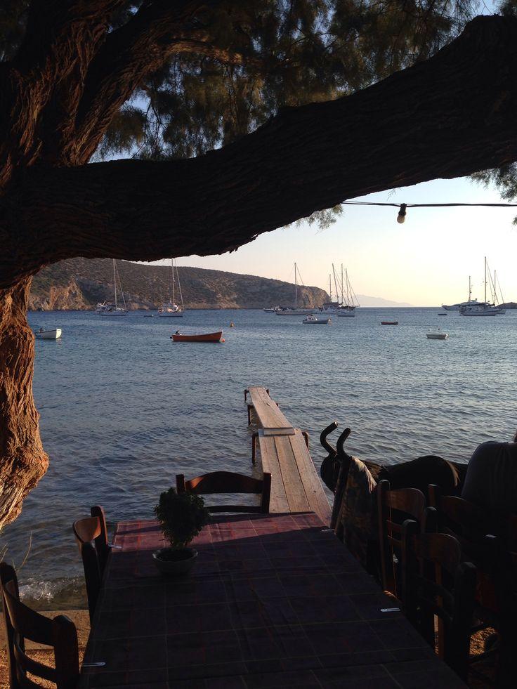 Sifnos Vathy plage