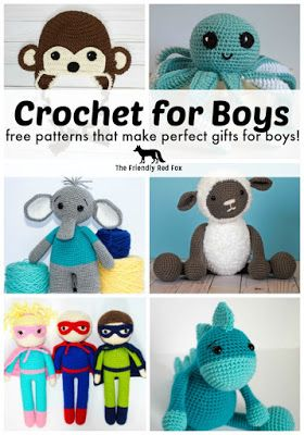 In the past I had a hard time finding crochet things for my boys that I actually wanted to make. Crochet projects for boys seemed a little ...