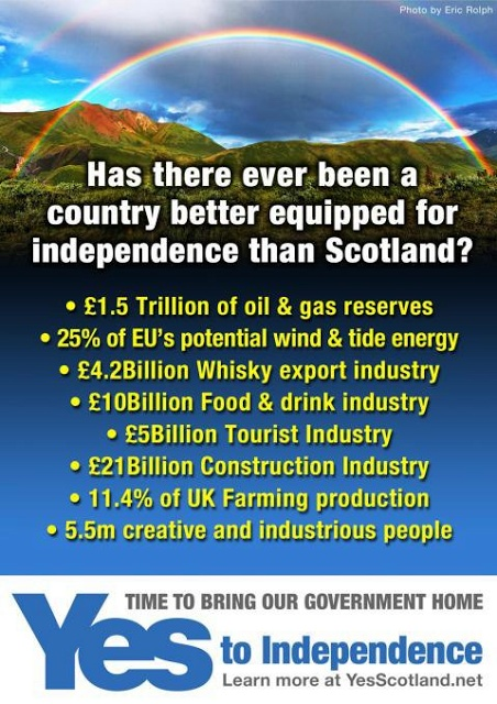 Scotland is well equipped for independence