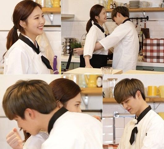 "Joy and Yook Sungjae Have a Romantic Cook-Off on ""We Got Married"""