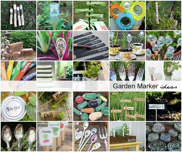 Garden Marker Ideas