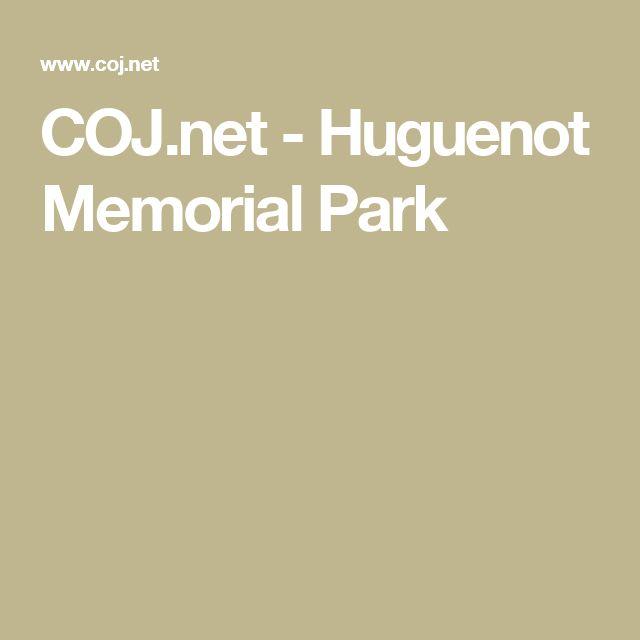 COJ.net - Huguenot Memorial Park