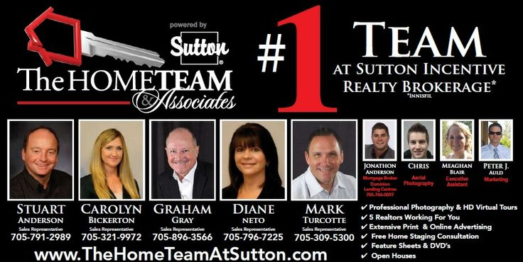 For more information on The Home Team # 1 Team At Sutton Group Incentive Realty visit http://www.newbarrierealestatelistings.com