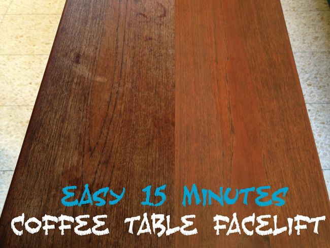 Pi#8 - The owner's furniture - Coffee Table Facelift