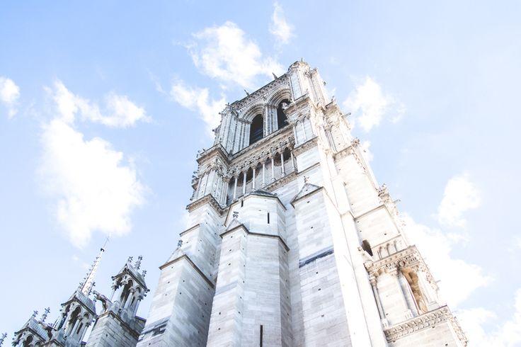 Kotona ja kaukomailla// The Church of Notre Dame, Paris, France