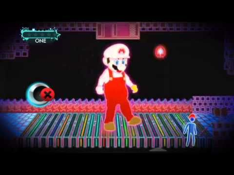 [Just Dance 3] Just Mario - best way to bring movement into the classroom... play and let students follow along!!!