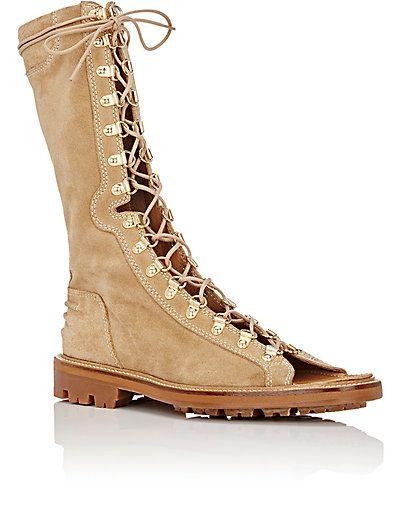 BALMAIN Lace-Up Ranger Sandals $2,065