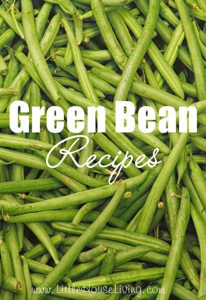 Fresh green bean recipes easy