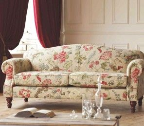 Bazzano Braemore 3 Seater Sofa in Chintz -This sofa is perfect for the summer inspired home with its luxurious florals!